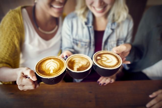Latte-art-drie