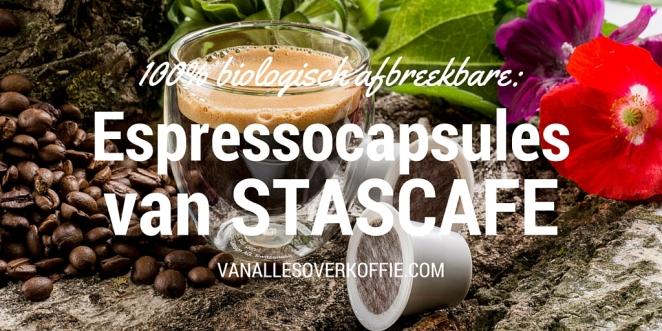 VAOK - Espressocapsules van STASCAFE